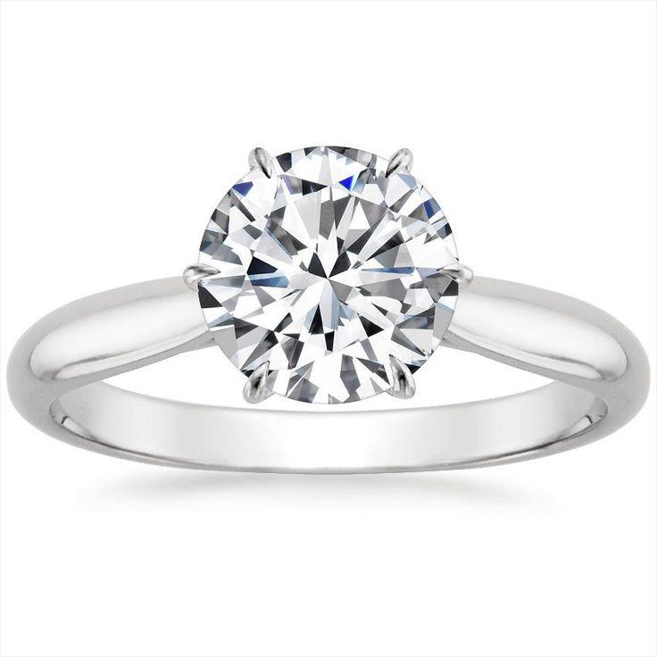 60 Premium Moissanite Engagement Rings Vs Diamond Ci22812 ...