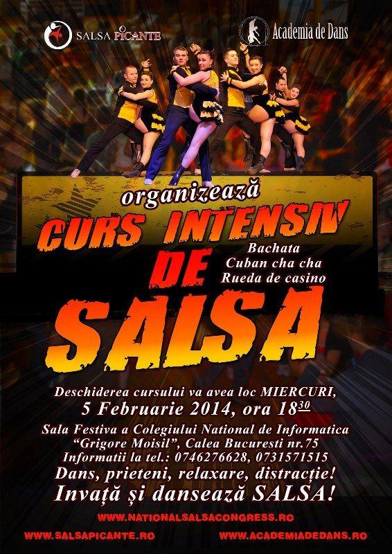 Un nou curs de Salsa & Bachata!