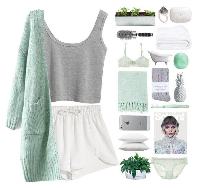 """""""sweet mint // Top Set"""" by aria-97 ❤ liked on Polyvore featuring Francesco Scognamiglio, Frette, Fieldcrest, Supersmile, Lazy Susan, Surya, Araks, Johnstons, H2O+ and T3"""
