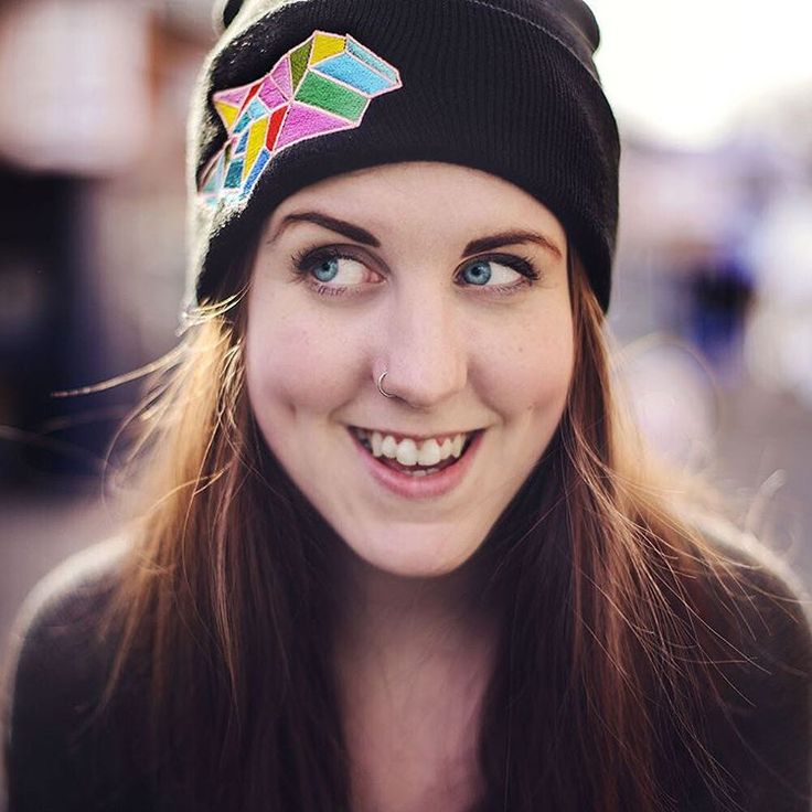 Keep your head warm with our awesome geometric toque! Custom designed by the amazing http://www.priscillayu.ca/
