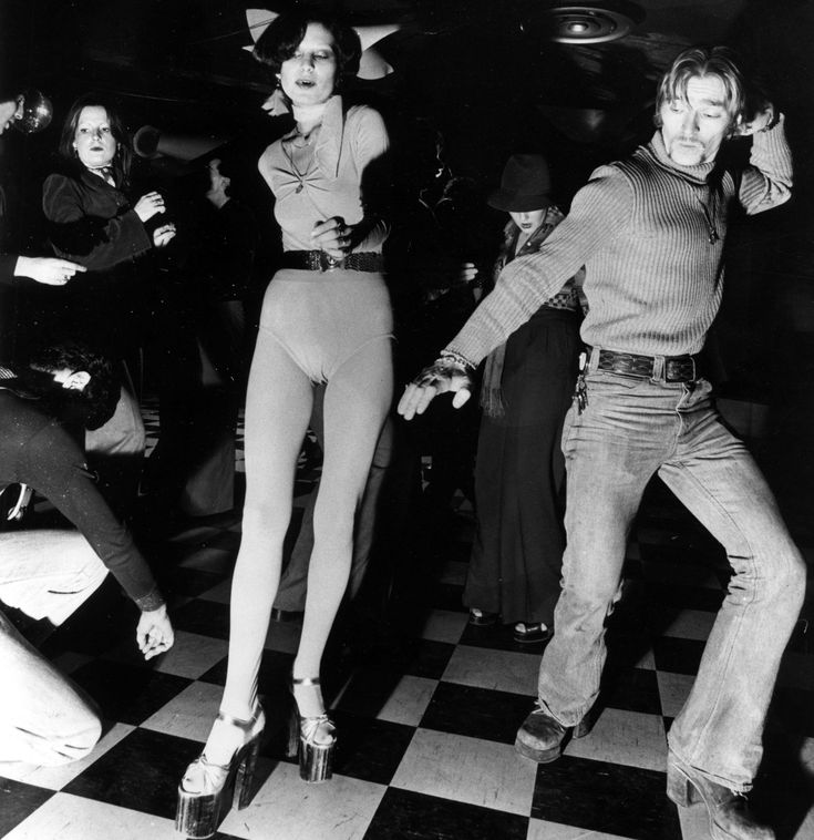 With clubs disappearing, where will Toronto dance? #1970s #heels #checkerboard