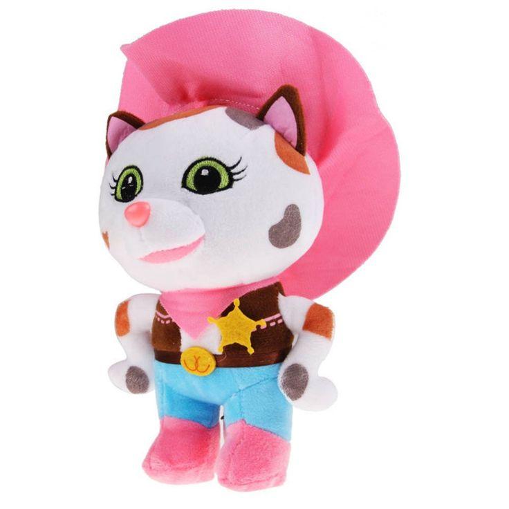 20-24cm Sheriff Callie's Wild West Horse Woodpecker Cactus Cowboy Cat Movies Cartoon Dolls Anime Gift Video Stuffed Plush Toys