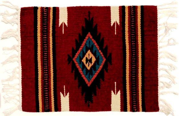 (EPHIM1520-9) Woolen Southwestern Placemat