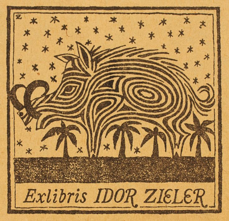 Ex Libris - Idor Zieler.                                                                                                                                                                                 More