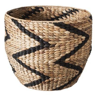 Win $100 Target GC | Nate Berkus fall collection | chevron pattern storage basket