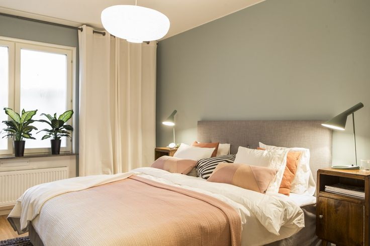 inredning, master bedroom, JM, skandinavisk inredning, AJ lampa, ikea, sovrum