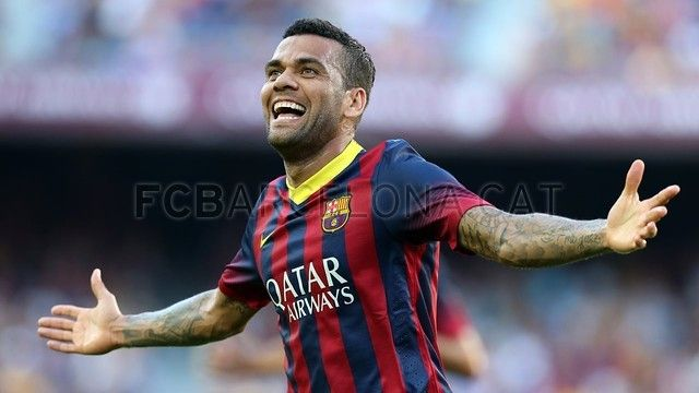 FC Barcelona, Dani Alves Will be greatly missed, good luck with your next team. Appreciate all the good times with Barcelona