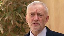 Jeremy Corbyn says US air strikes in Syria 'wrong' - BBC News