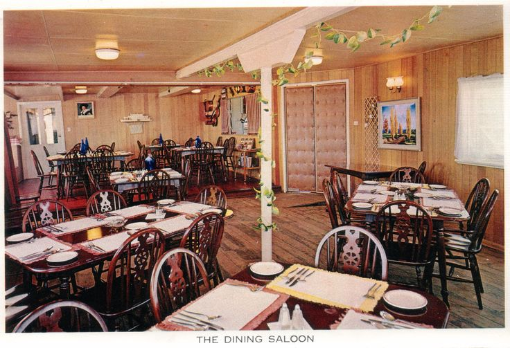 A restaurant was located in the vessel's original Dining Room