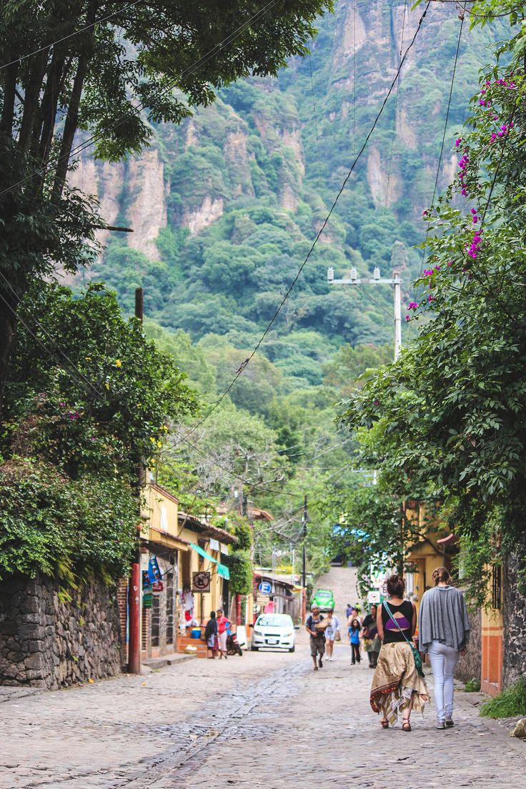 Weekend trip if you live in the DF: Tepoztlan, Mexico