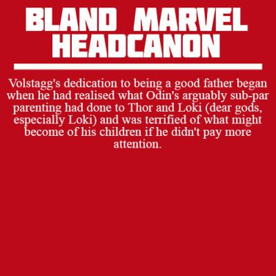 SUBMISSIONS: OPEN Rules || FAQS Welcome to Bland Marvel Headcanons. Your source for all the bland,...
