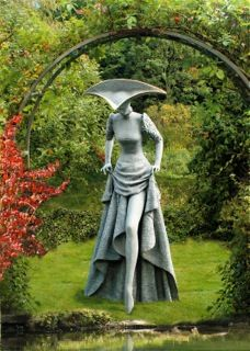 The Glass Slipper - by Philip Jackson, sculptor