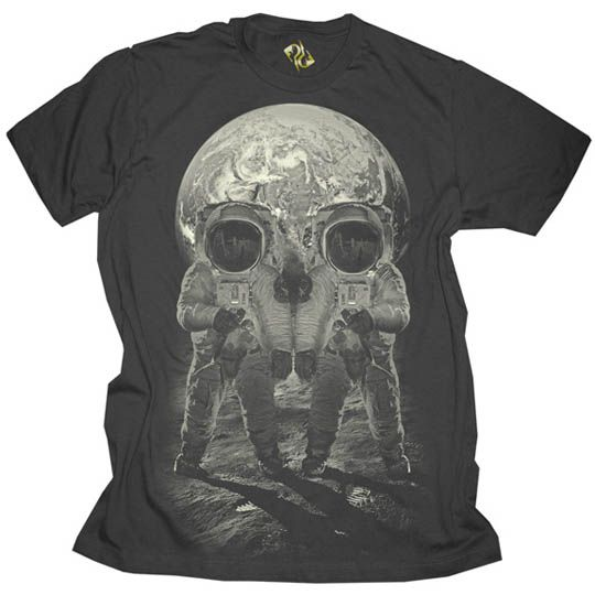 Public Domain 'Earth-Rise' T-shirt