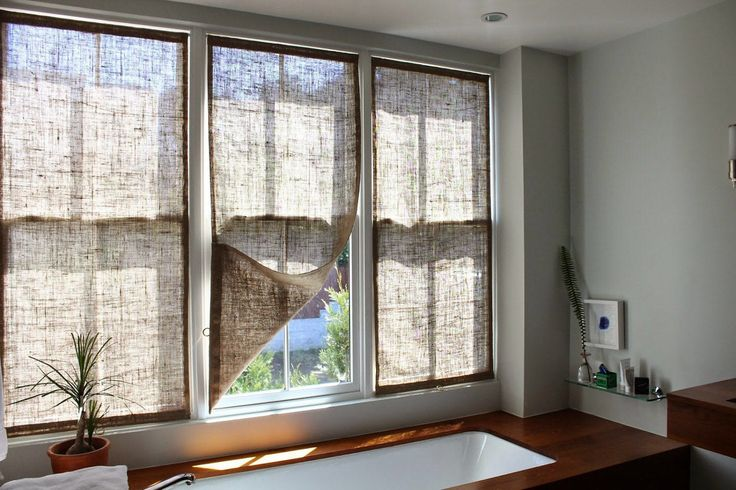 Best 25 Burlap Roman Shades Ideas On Pinterest Diy