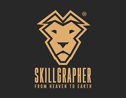 """LOGOTYPE """"SKILLGRAPHER From Heaven to Earth"""" Colombia"""