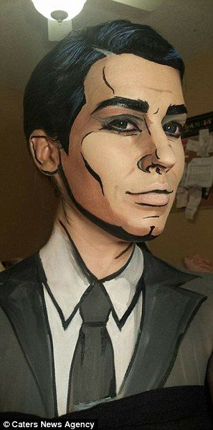 Danger zone! One of Lianne's first transformations saw her turn herself into one of her fa...