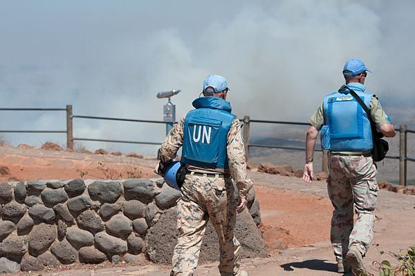 Someone was on in touch with the reality of the situation. [UNDOF commander told troops to 'raise the white flag' and 'lay down firearms' thinking that would save other troops.
