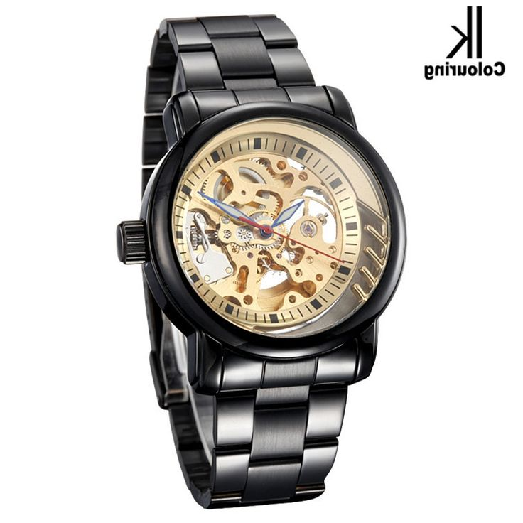 38.52$  Buy now - https://alitems.com/g/1e8d114494b01f4c715516525dc3e8/?i=5&ulp=https%3A%2F%2Fwww.aliexpress.com%2Fitem%2FNew-2014-IK-Colouring-Fashion-Mechanical-Skeleton-Watch-Auto-Stainless-Steel-Men-s-Watches-Wristwatch-Free%2F2032451164.html - New 2017 IK Colouring Fashion Mechanical Skeleton Watch Auto Stainless Steel Men's Watches Wristwatch Free Ship