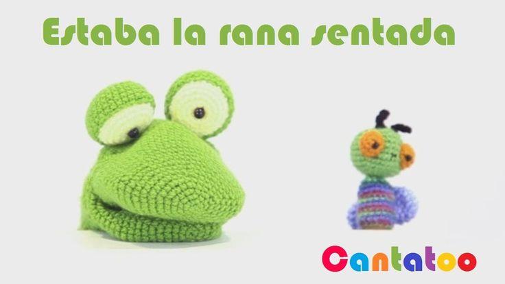Estaba la rana sentada, divertida canción infantil de Cantatoo para escuchar, cantar, y divertirse en familia. ¿Serás capaz de repetirla con todos los person...