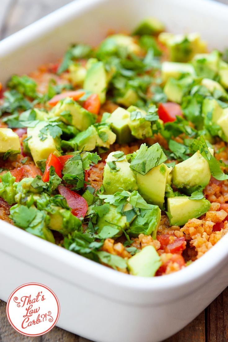 Low carb mexican caulirice amy plano the pcos