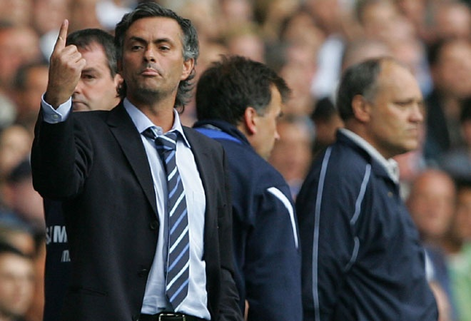 The Special One, Jose Mourinho, manager of Real Madrid