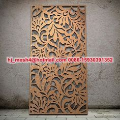 Metal wall panel decor with lighting - Google Search