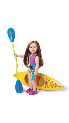 Charlsea and her Kayak Collection