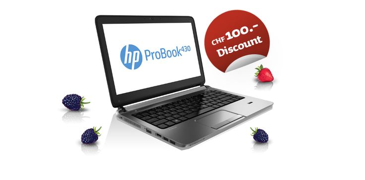 Das HP ProBook 430 bietet alles, was ein Student braucht. Natlürlich ist es ein Sonderangebot mit grossem Studentenrabatt!