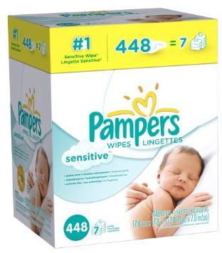 Amazon: Pampers Sensitive Baby Wipes 448 Count Only $7.78 (Less Than 2¢ Per Wipe!) – Hip2Save