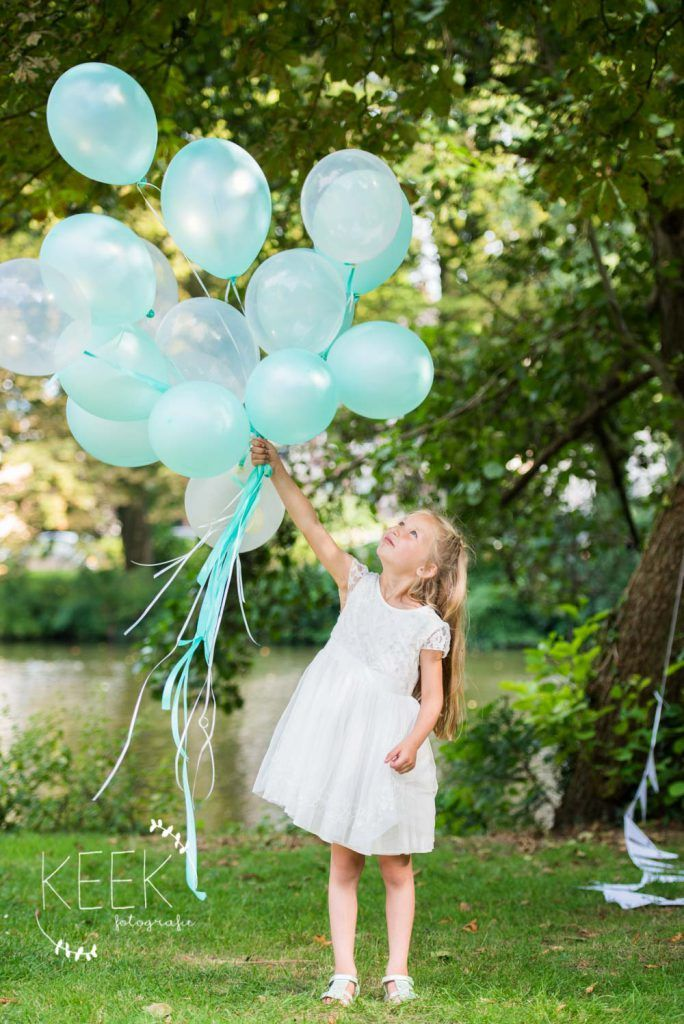 bruidsmeisje / bruiloft / ballonnen / wedding