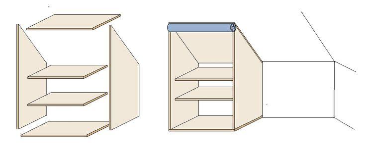 Schrank Für Dachschräge Selber Bauen : kleiderschrank schrank dachschr ge kleiderschrank f r ~ Watch28wear.com Haus und Dekorationen