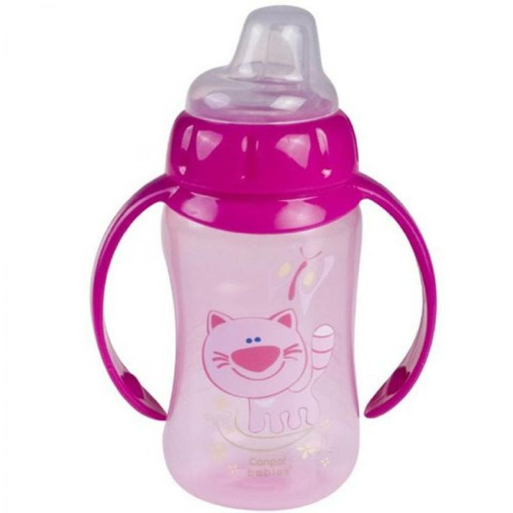 #Training_Cup   Brand: #Canpol_Babies  Short description:  A perfect #cup for children starting to learn to drink independently. It works as a feeding cup and a cup for independent drinking. Dimensions:16 x 12.2 x 6 cm  #Hedeya #hedeyastores #toys #gifts code:4433  Price:55