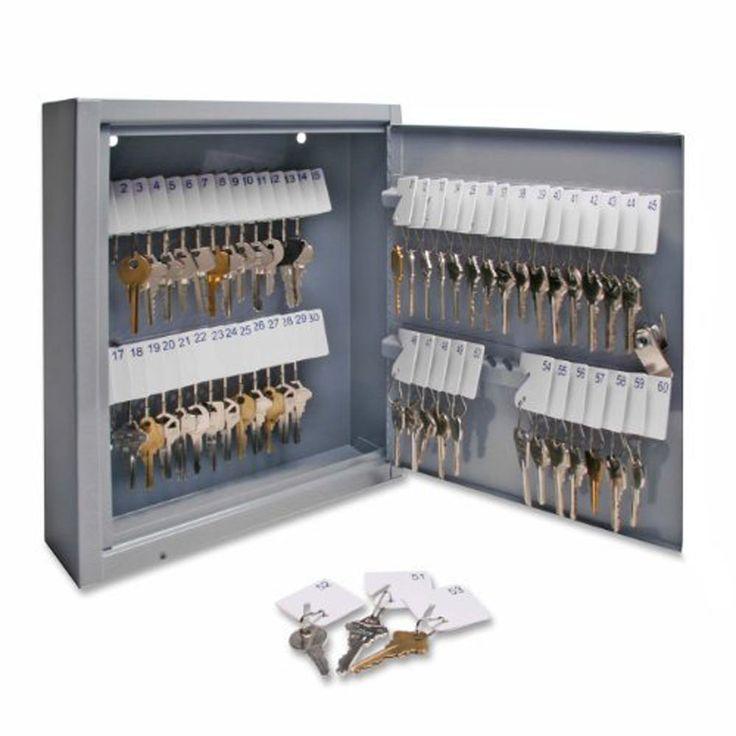 Key Storage Cabinet Lock Box Safe Locker Wall Mount Keys Hook Organizer Holder  #Sparco