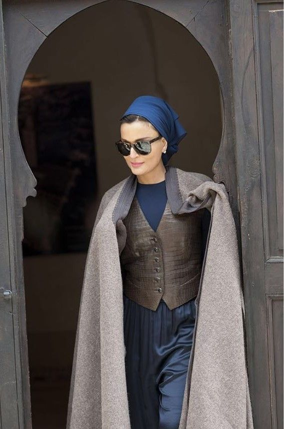 HH Sheikha Mozah in Marrakesh - 2014