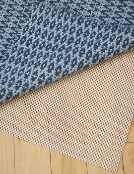 hook and loom Non-skid natural rubber rug pad
