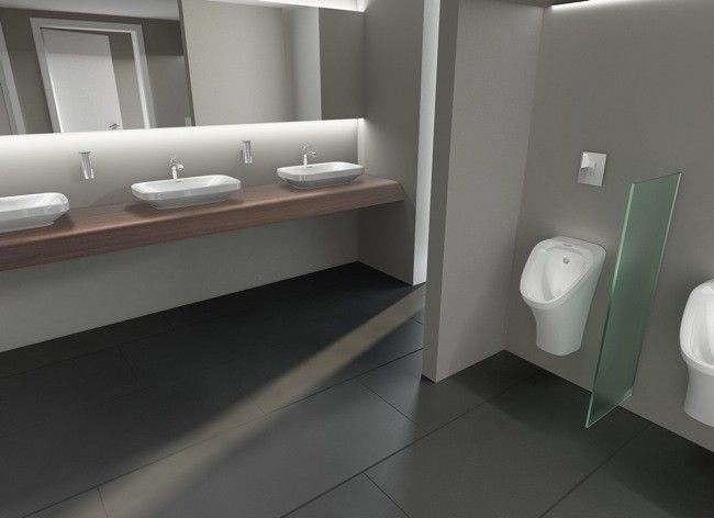 Diseno De Un Baño Publico:Bathroom Urinals