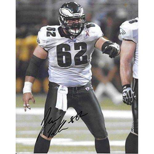 Jason Kelce, Philadelphia Eagles, Signed, Autographed, 8X10 Photo, a COA with the Proof Photo of Jason Signing Will Be Included.