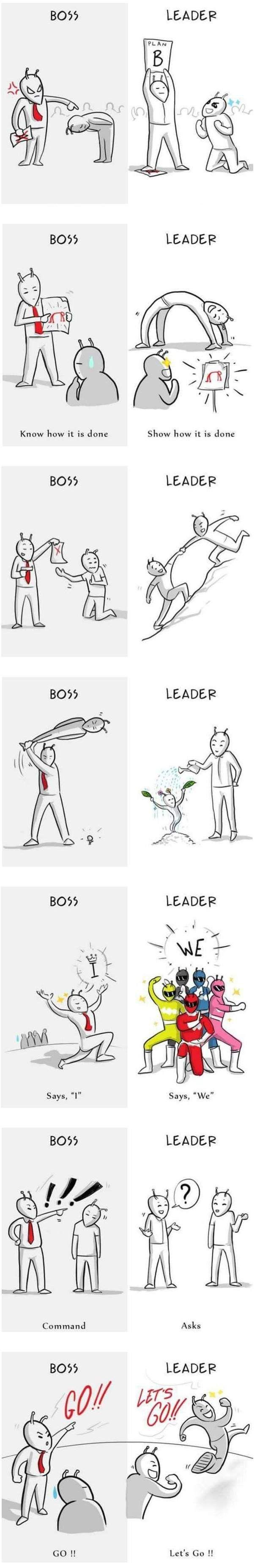 보스와 리더
