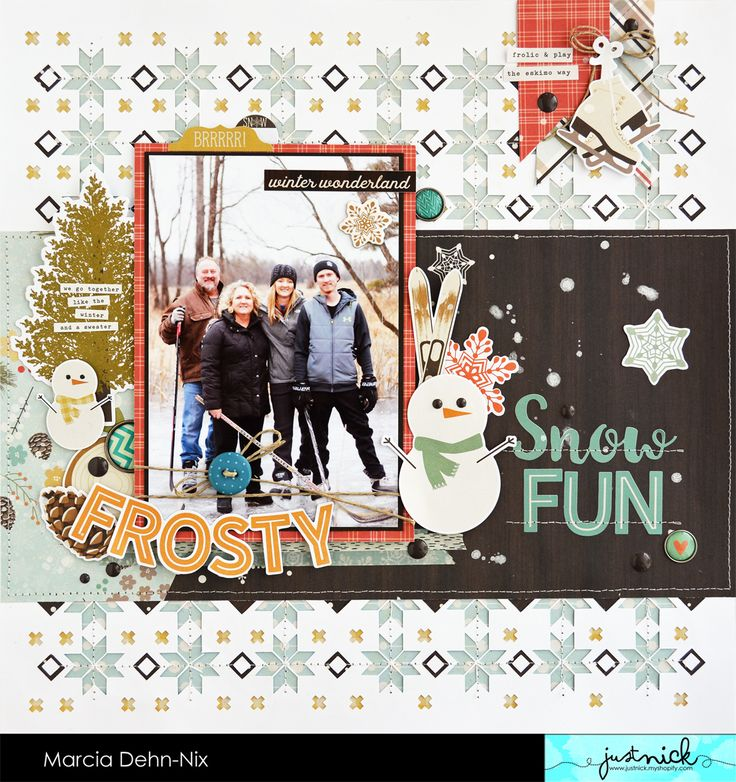 Snow Fun - Scrapbook.com