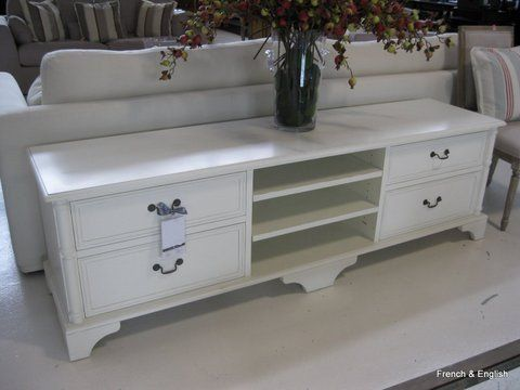 French Provincial Furniture Large Drawers Entertainment Units Tv Cambridge Pandora Tall