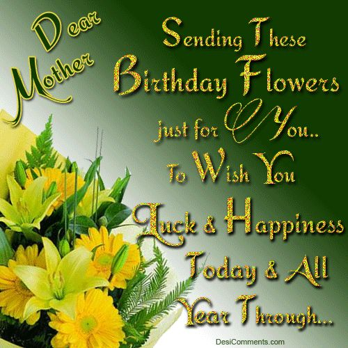 25+ Best Ideas About Birthday Greetings For Mother On