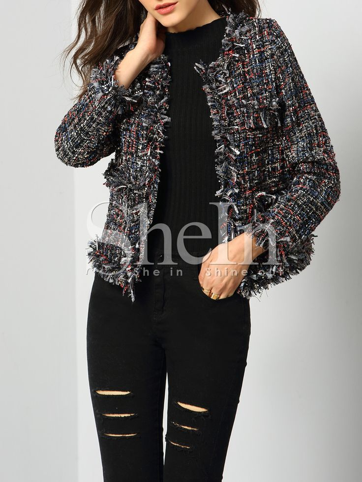 Shop Multicolor Long Sleeve Tassel Coat online. SheIn offers Multicolor Long Sleeve Tassel Coat & more to fit your fashionable needs.