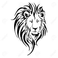 """Résultat de recherche d'images pour """"dessin lion simple"""""""
