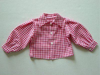 Rot-kariertes Hemd