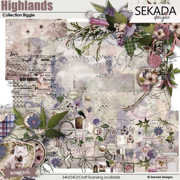 Save 20% off LAST DAY Highlands Collection Biggie