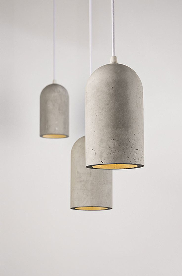 design design lights - Chinese studio Bentu Design creates furniture and  lighting using cement and occasionally bamboo accents.