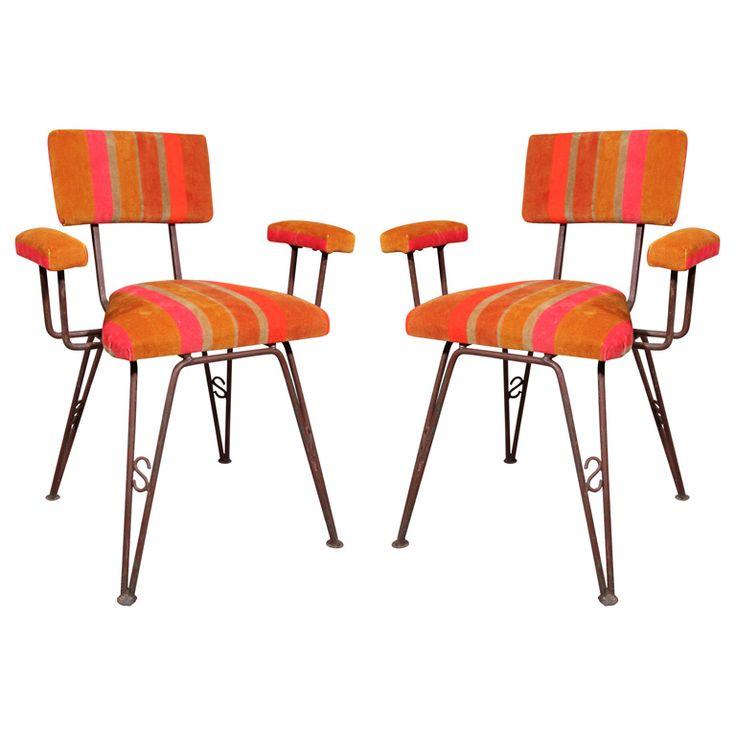 Mid Century Modern Kitchen Linoleum Table And Chairs
