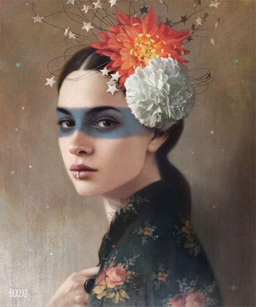 Tom Bagshaw's stunning new piece in the Dec issue of #beautifulbizarremagazine - COMING SOON!