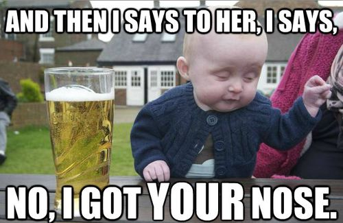 *snort*Funny Pictures, Quote, Baby Memes, Drunk Baby, Funny Stuff, Too Funny, So Funny, Funny Baby, True Stories
