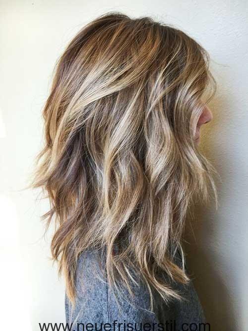 2018-Trends Layered Haarschnitte für Damen